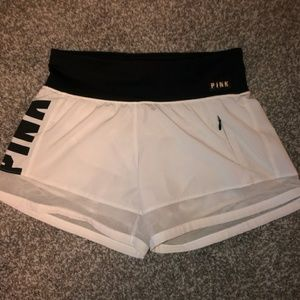 Vs pink athletic shorts